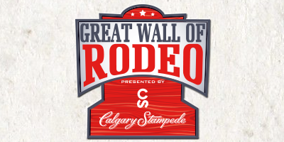 The Great Wall of Rodeo presented by Calgary Stampede