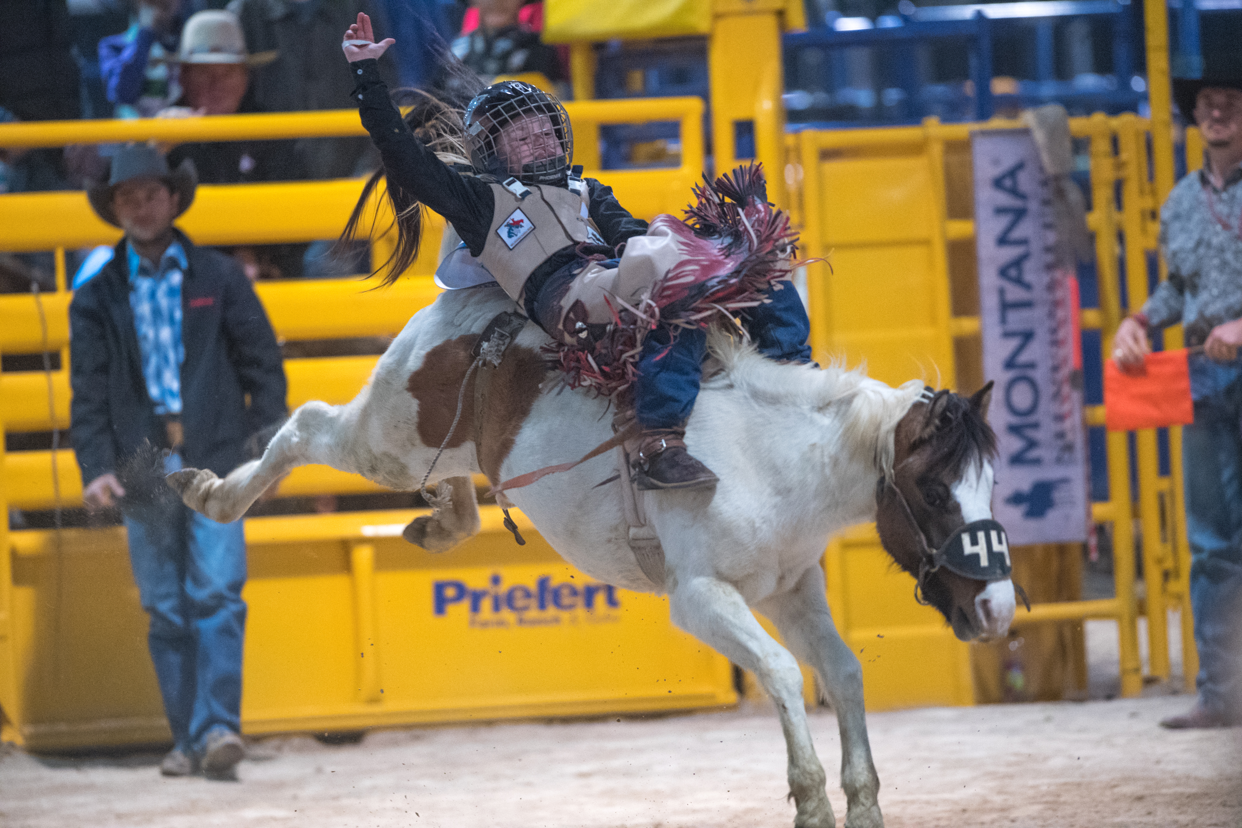 Junior Nfr Inside The Wrangler Rodeo Arena At Cowboy