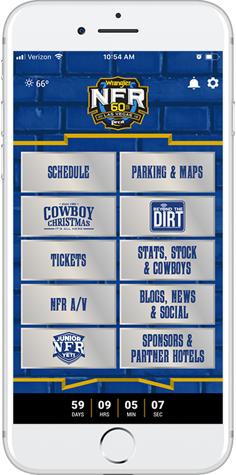 NFR App | The Official NFR Experience