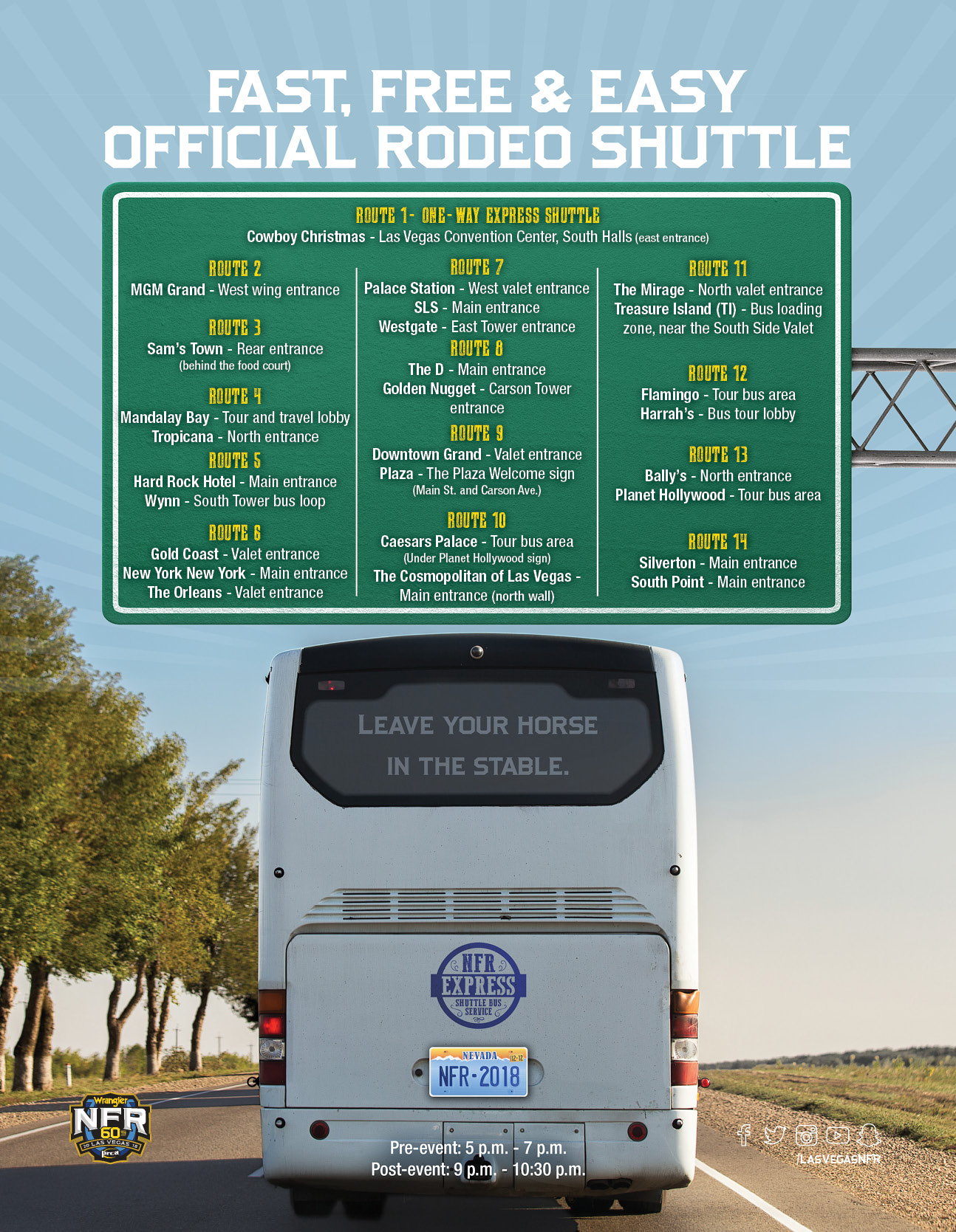 Nfr Express Shuttle Bus Service The Official Nfr Experience